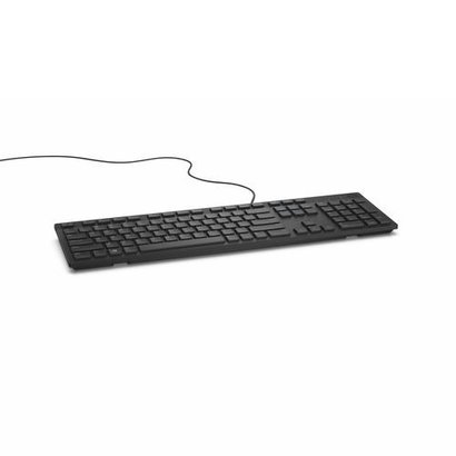Dell KB216 toetsenbord USB QWERTY US International Zwart