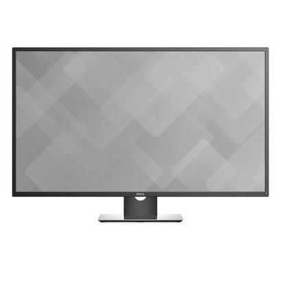 "Dell P4317Q LED display 108 cm (42.5"") 3840 x 2160 Pixels 4K Ultra HD LCD Zwart, Grijs, Zilver"