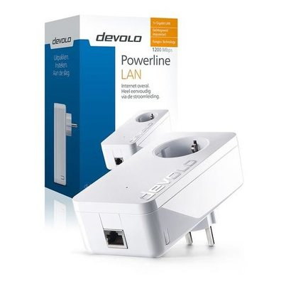 Devolo dLAN 1200+ 1200 Mbit/s Ethernet LAN Wit 1 stuk(s)