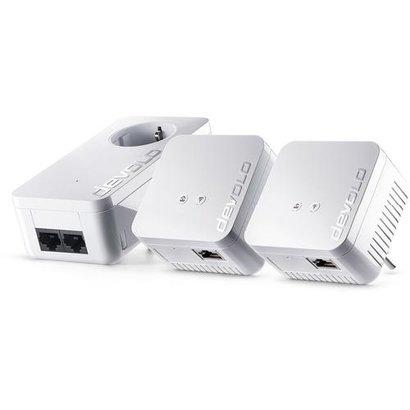 Devolo dLAN 550 WiFi Network Kit Powerline NL Ethernet LAN Wi-Fi Wit 3 stuk(s)