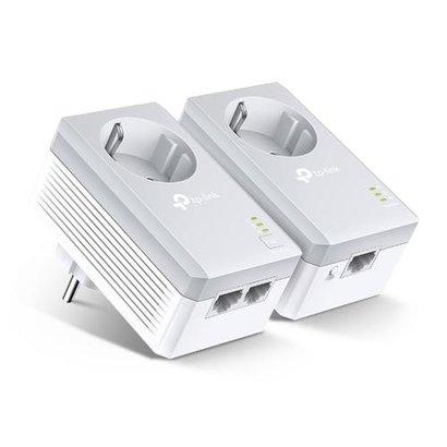TP-LINK AV600 2-poorts Passthrough Powerline Starterskit