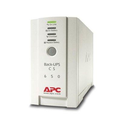APC Back-UPS 650VA noodstroomvoeding 4x C13 uitgang, USB