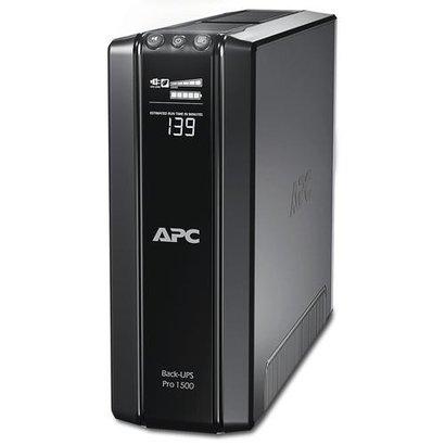 APC Back-UPS Pro 1500VA noodstroomvoeding 10x C13 uitgang, USB, uitbreidbare runtime