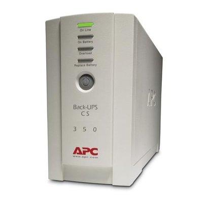 APC Back-UPS 350VA noodstroomvoeding 4x C13 uitgang, USB