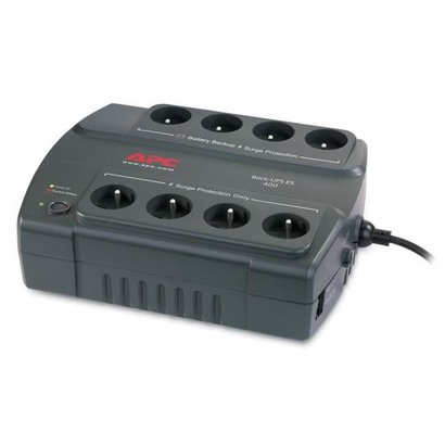 APC Back- 400, FR UPS Stand-by (Offline) 400 VA 240 W 8 AC-uitgang(en)