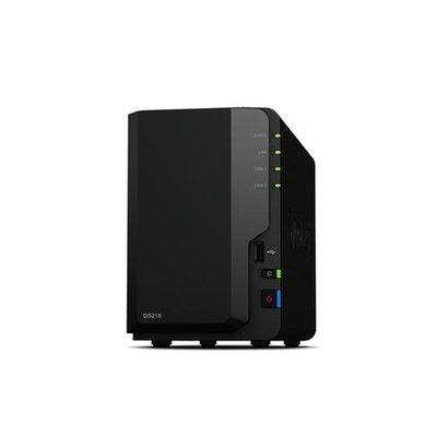 Synology DiskStation DS218 data-opslag-server RTD1296 Ethernet LAN Desktop Zwart NAS
