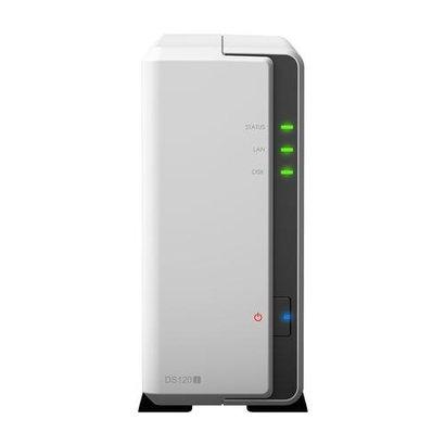 Synology DiskStation DS120j 88F3720 Ethernet LAN Tower Grijs NAS