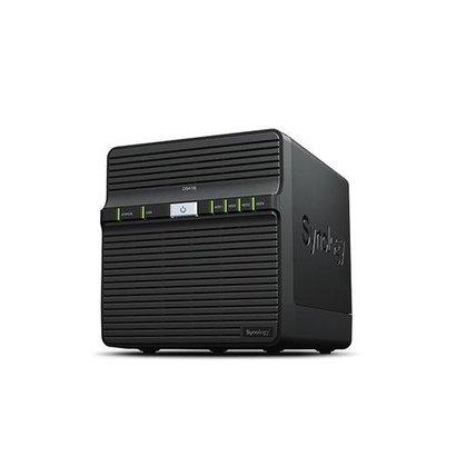 Synology DiskStation DS418j RTD1293 Ethernet LAN Desktop Zwart NAS