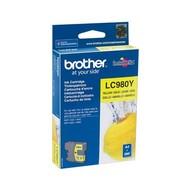 Brother LC-980Y inktcartridge Origineel Geel 1 stuk(s)