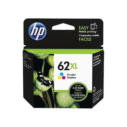 HP 62XL Tri-color Ink Cartridge Origineel Cyaan, Magenta, Geel