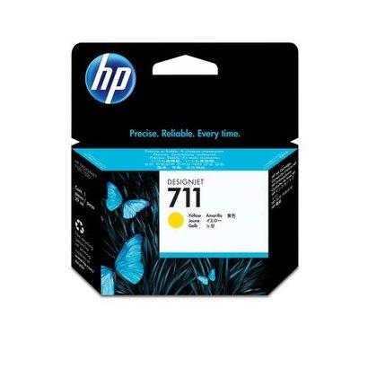 HP 711 Origineel Geel