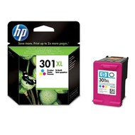 HP 301XL Tri-color Ink Cartridge Origineel Cyaan, magenta, Geel