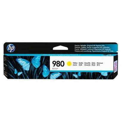 HP 980 Origineel Geel 1 stuk(s)