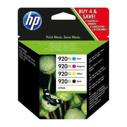 HP C2N92AE Origineel Zwart, Cyaan, Magenta, Geel Multipack 4 stuk(s)