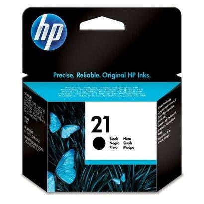 HP 21 Black Inkjet Print Cartridge Origineel Zwart 1 stuk(s)