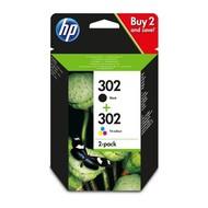 HP 302 Origineel Zwart, Cyaan, Magenta, Geel Multipack