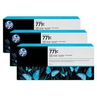 HP 771C Origineel Foto zwart 3 stuk(s)