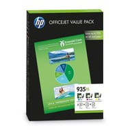 HP 935XL Office Value Pack Origineel Cyaan, Magenta, Geel 3 stuk(s)