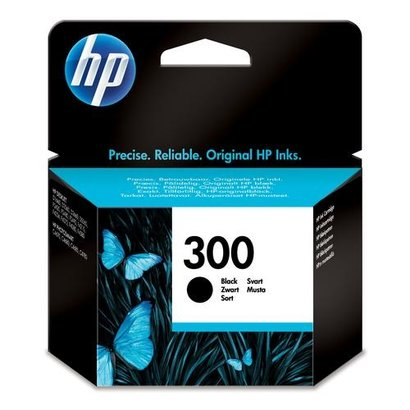 HP 300 Black Ink Cartridge Origineel Zwart
