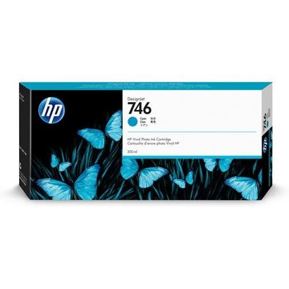 HP 746 Origineel Cyaan