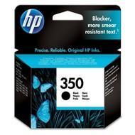 HP 350 Black Inkjet Print Cartridge Origineel Zwart 1 stuk(s)