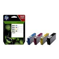 HP 364XL Origineel Zwart, Cyaan, Magenta, Geel