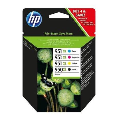 HP 950XL/951XL Origineel Zwart, Cyaan, Magenta, Geel 4 stuk(s)
