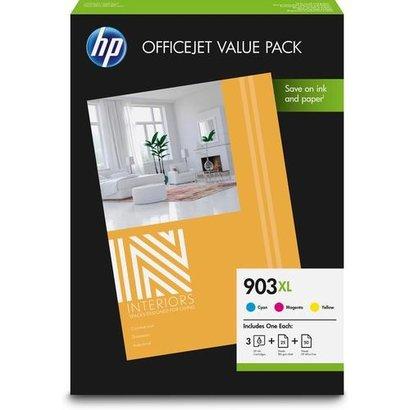 HP 903XL Officejet Value Pack Origineel Cyaan, Magenta, Geel