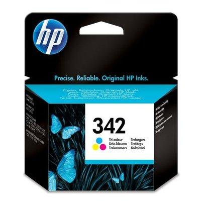 HP 342 Tri-color Inkjet Print Cartridge Origineel Cyaan, Magenta, Geel 1 stuk(s)