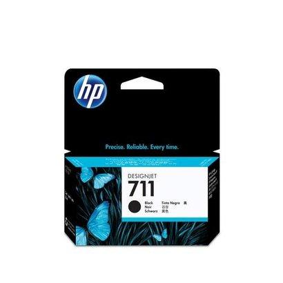 HP 711 Origineel Zwart 1 stuk(s)