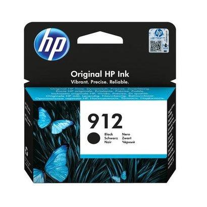 HP 912 Origineel Zwart 1 stuk(s)