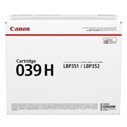 Canon 039H Origineel Zwart 1 stuk(s)