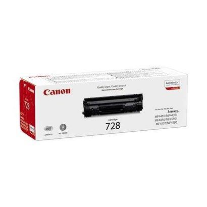Canon CRG 728 Origineel Zwart 1 stuk(s)
