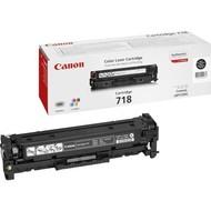 Canon CRG-718 Bk Origineel Zwart 1 stuk(s)