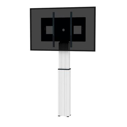 Newstar electrical height adjustable column 500mm height adjustment- four floor leveling feet- including wall mount brackets mount for use with 42i . 100i VESA 200 x 2