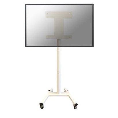 Newstar Mobile Flatscreen Floor Stand - (height: 115 cm) - only VESA 400x400 mm White 32-55inch