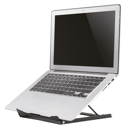 Newstar Laptop Desk Stand (ergonomic can be positioned in 5 steps) Black