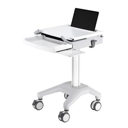 Newstar Mobile Laptop Cart incl. keyboard & mouse drawer