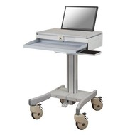 Newstar Mobile Laptop Cart incl. keyboard & mouse support Creme 10-22i