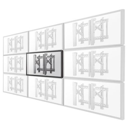 Newstar Flat Screen Wall Mount for video walls (pop-out / stretchable)