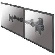Newstar Flatscreen Wall Mount (dual. 3 pivots & tiltable)