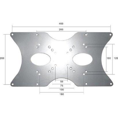 Newstar LCD-ARM NEW24-46i Verloopplaat75 - 400mm zilver