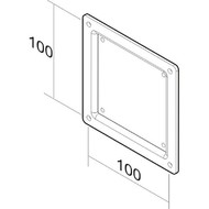 Newstar LCD-ARM NEW10-36i verloopplaat75 - 100mm zwart