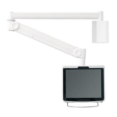 Newstar  LCD/TFT medische wandsteun - 4 Draaipunten - lengte 170 cm