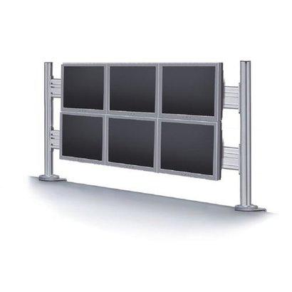 Newstar  toolbar voor 6 schermen (70cm hoog. 130cm breed)