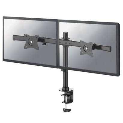 Newstar Flat Screen Desk Mount (clamp/grommet) - Crossbar