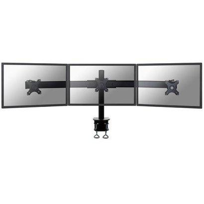 Newstar  Flatscreen Bureausteun black (klem)