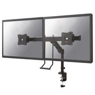 Newstar Flat Screen Desk Mount (clamp/grommet) - Crossbar + handle