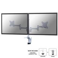 Newstar Flatscreen Bureausteun (bureauklem & bladdoorvoer )2 schermen