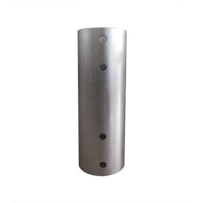 Newstar Koppelstuk voor flatscreen plafondsteunverlengbuizen - Zilver -